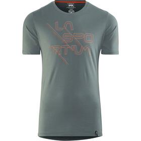 La Sportiva Sliced Logo T-shirt Herr slate